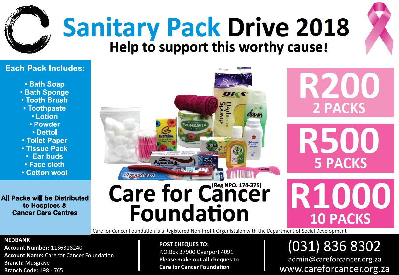 sanitary pack drive